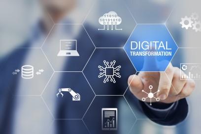 Concept image for digital transformation
